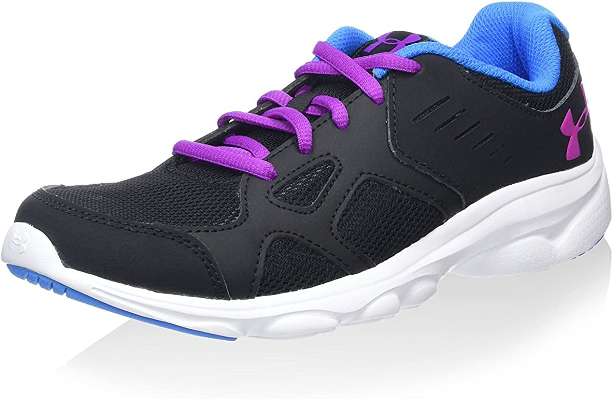 Under ArmourUa Ggs Pace Rn - Zapatillas de running chica, color negro, talla 355: Amazon.es: Zapatos y complementos
