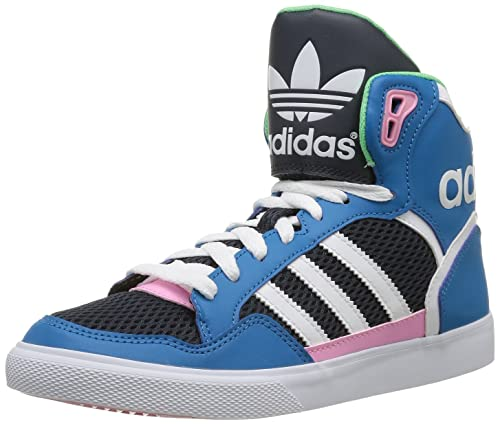 temperament shoes best place stable quality adidas Originals Extaball W, Hi-Top Slippers Women's blue Size: 4 ...