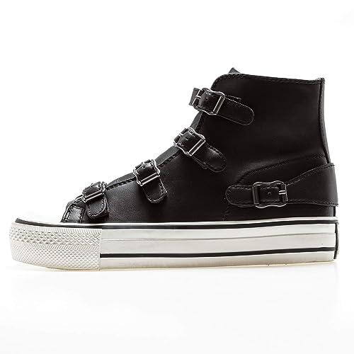 ASH Virgin Sneakers Nere, 37, Nero: Amazon.it: Scarpe e borse