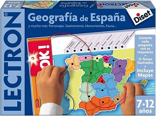 Diset 63845 - Lectron Geografia De España: Amazon.es: Juguetes y ...