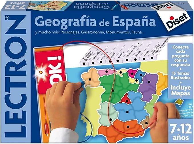 Diset 63845 - Lectron Geografia De España: Amazon.es: Juguetes y juegos