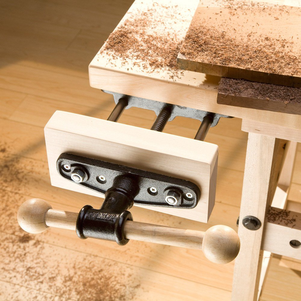 Heavy Duty Quick Release Front Vise by Rockler