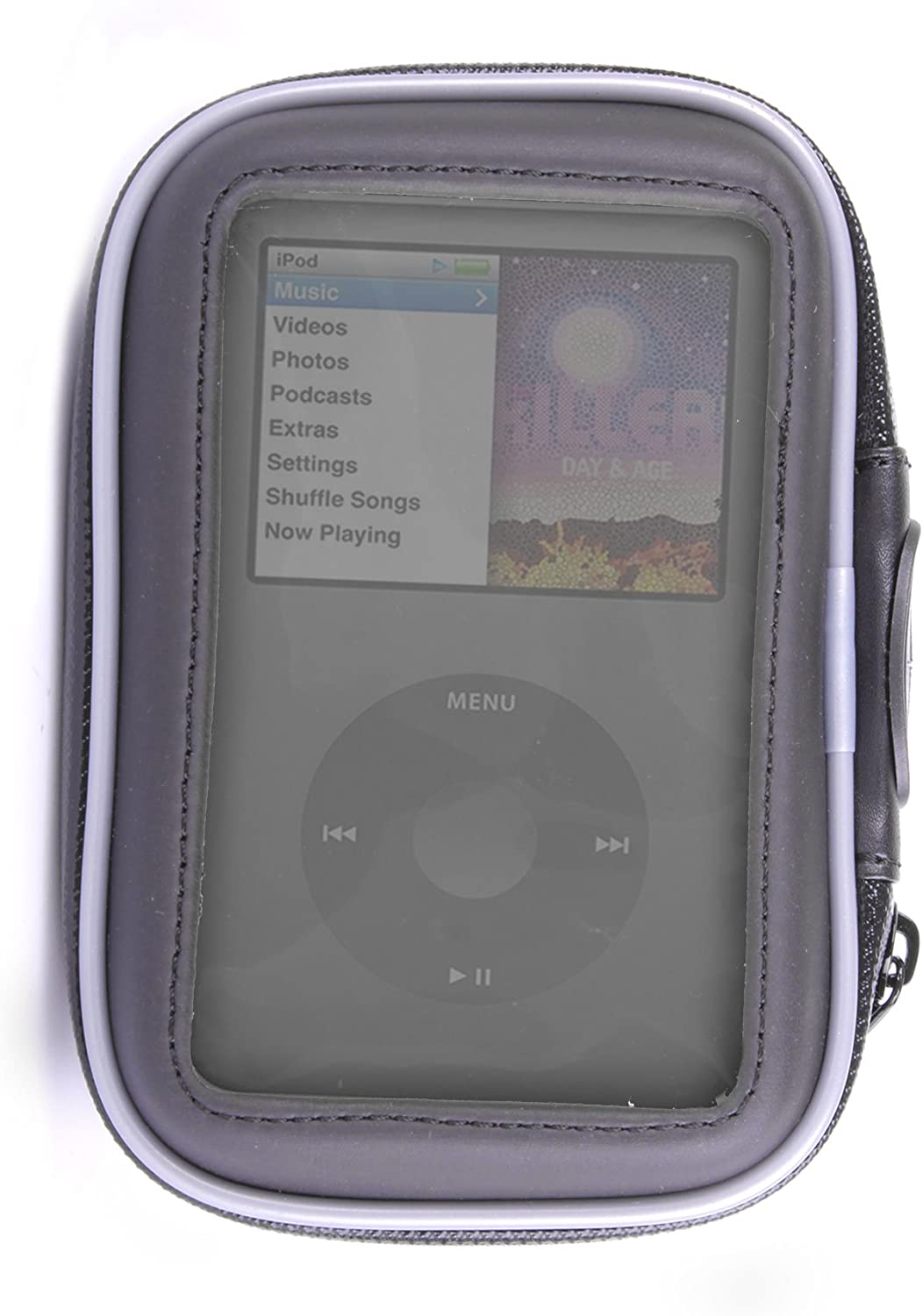 DURAGADGET Durable All-Weather Shock Resistant Sturdy Mount/Hard Case for Apple iPod Classic & iPod 5th Generation