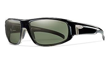 17db88edc2 Smith Optics Tenet Sunglass (Black Polarized Blue Mirror)  Amazon.co ...