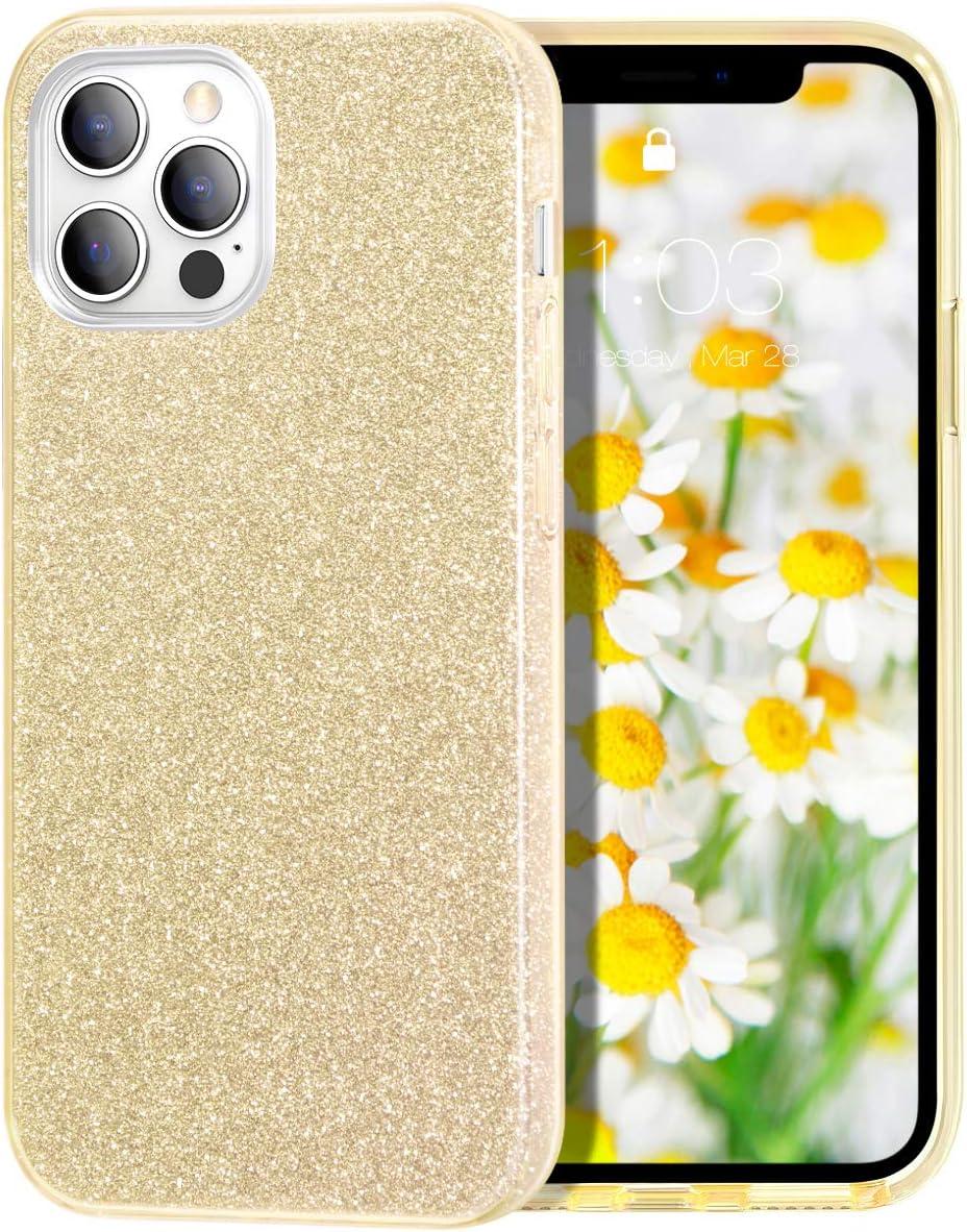 Milprox Iphone 12 Pro Hülle Iphone 12 Hülle Glitzer Elektronik