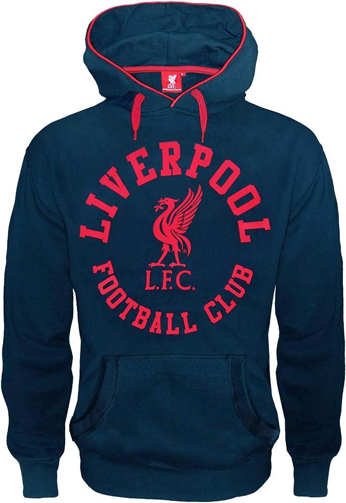 Kinder T-Shirt mit Grafik-Print Liverpool FC Geschenk f/ür Fu/ßballfans Offizielles Merchandise