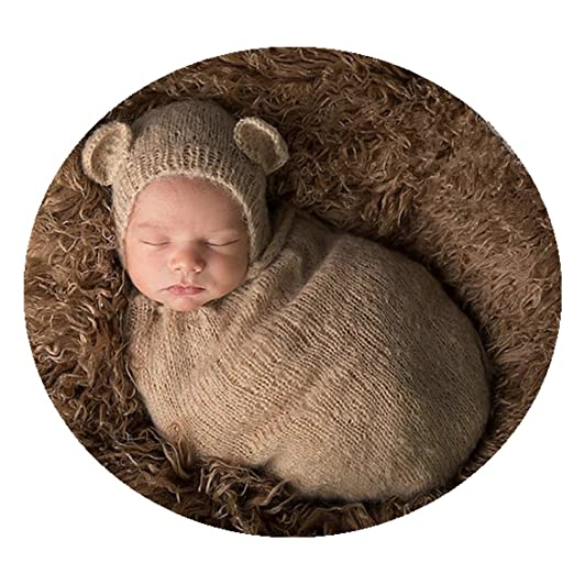 ef5b4a754 Handmade Cute Newborn Baby Photo Shoot Props Boy Girl Outfits Cute Sleeping  Bag Photography Props(