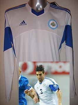 Adidas San Marino Adulto Grande Manga Larga Camiseta Jersey fútbol Camiseta de Maglia: Amazon.es: Deportes y aire libre