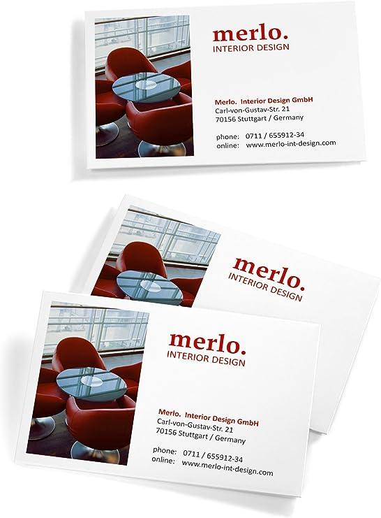 Sigel Ip520 Visitenkarten 3c Für Inkjet 100 Stück 10 Blatt Hochweiß Spezialbeschichtet Matt Glatter Schnitt 210 G 85x55 Mm
