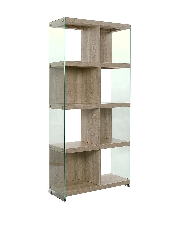 Wink Design Libreria Treviso, 8 Vani, Legno, Rovere, 71x30x159 cm Tomasucci 2760