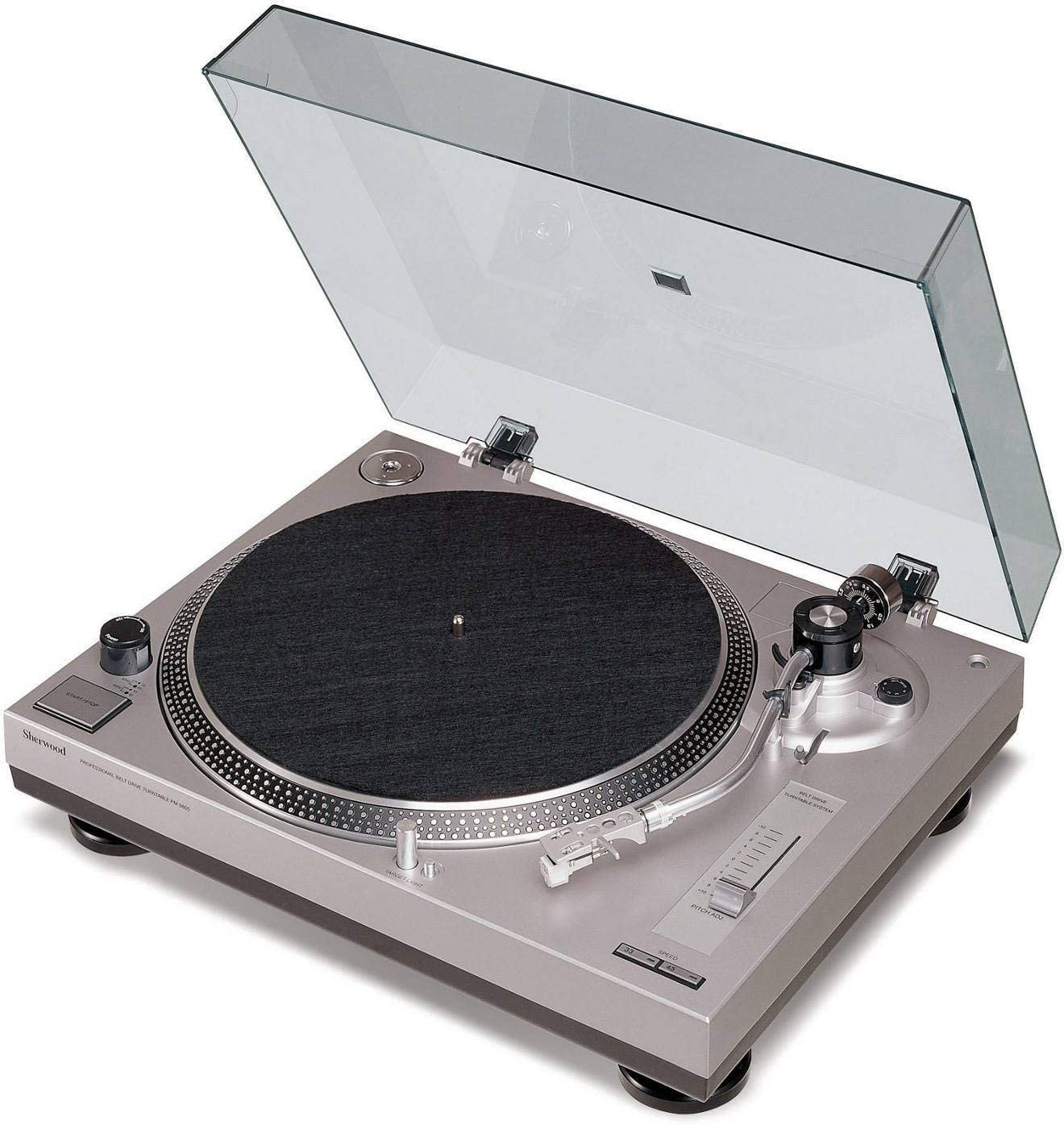 Sherwood PM-9805 - Tocadiscos, plata: Amazon.es: Electrónica