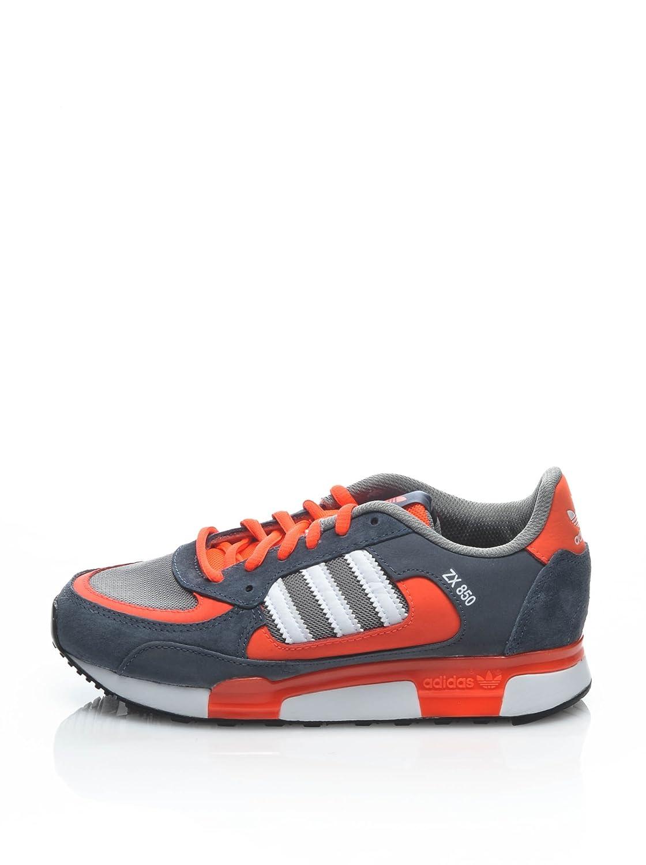 Adidas Originals Zx 850 Schwarz Weiß Orange Grau Herren