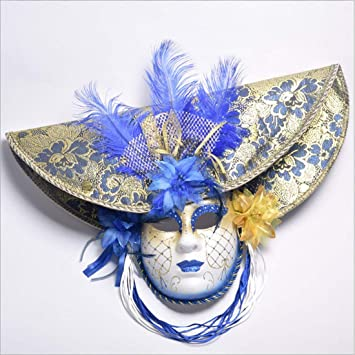 Zluna Venezianische Masken Halloween Maskerade Maske Kostüm Fancy ...