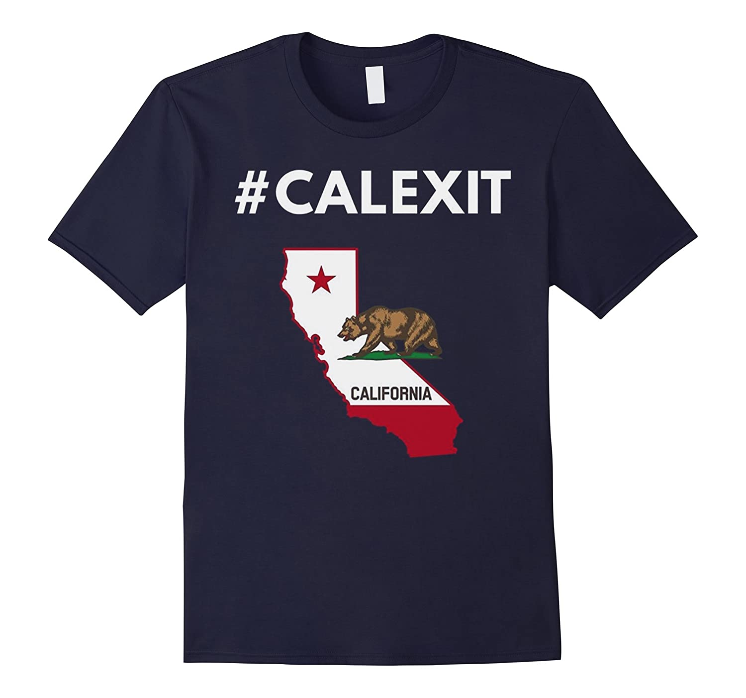#CALEXIT Secession of California From the US T-Shirt-CL
