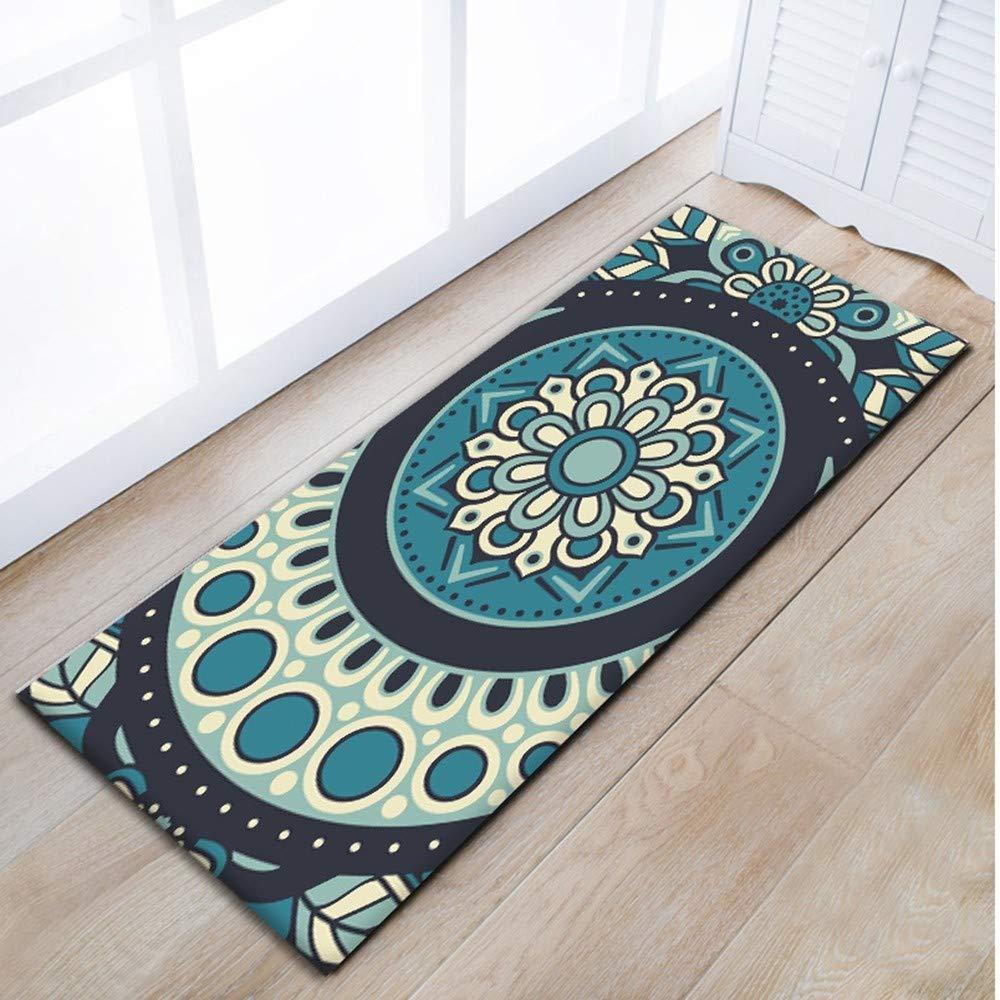 AITU Carpet Tappeti da Bagno Antiscivolo Tappetini da Bagno Cucina Tappetini Zerbini Tappeti Soffici Tappeti, 50 * 80 Cm