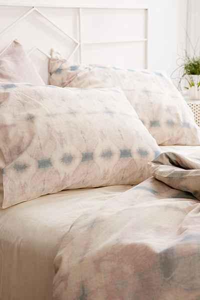 Miro Shibori Linen Blend Duvet Cover - Urban Outfitters