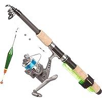 Tashiro Fishing Teleset Classic 180 / 312-001-002-00013 - Set canne à pêche télescopique - Gris