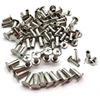 Xinlie 100 PCS Tornillo clavos remaches Clavos Remaches
