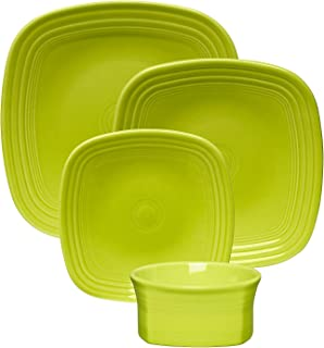 product image for Fiesta 19-Ounce Square Medium Bowl, Lemongrass