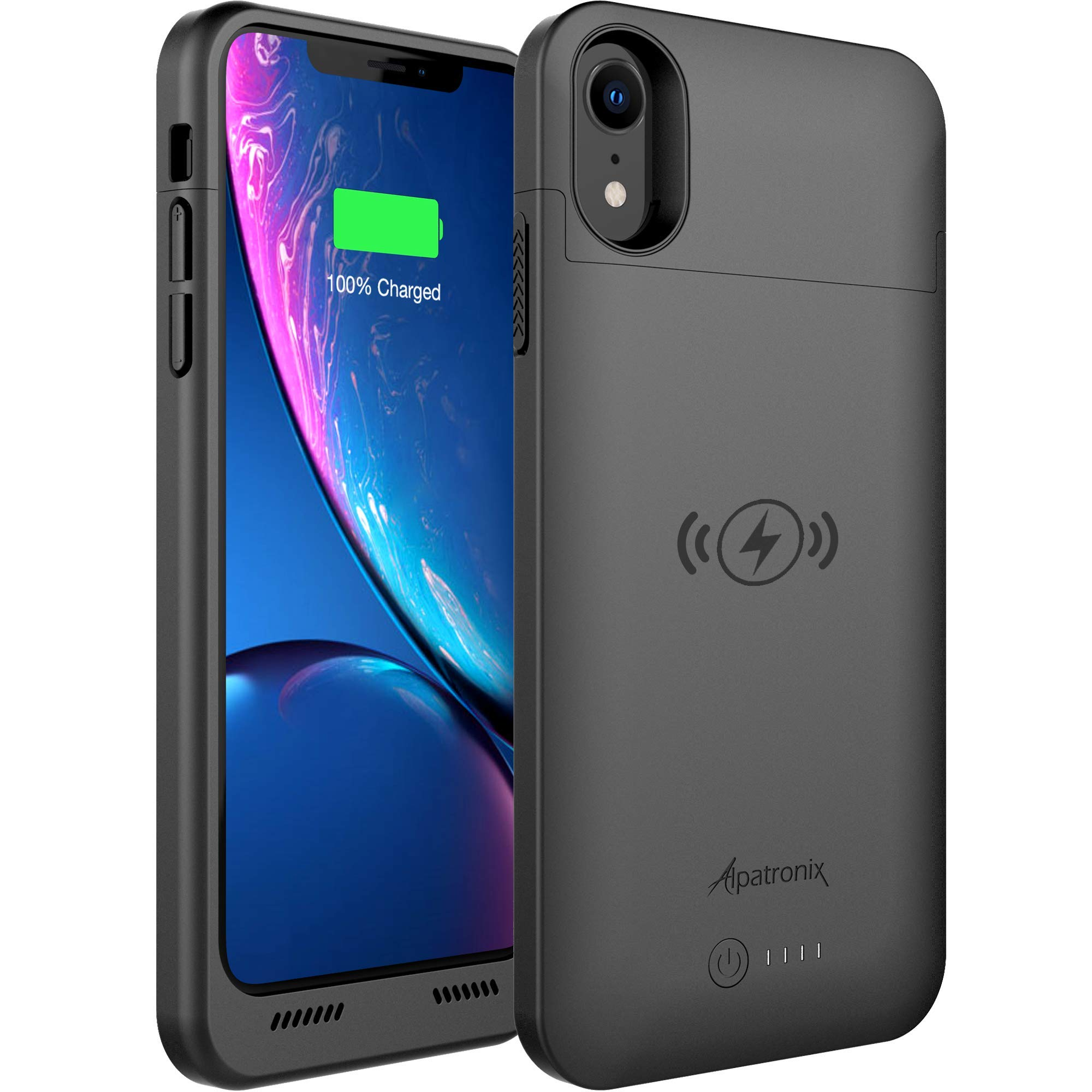 Funda Con Bateria de 3500mah para Apple Iphone Xr ALPATRONIX [7H843D4Y]