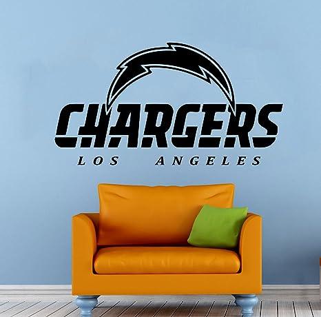e02b257c79d Amazon.com  Los Angeles Chargers Football Team Vinyl Decal Wall Sticker NFL  Emblem Logo Sport Poster Home Interior Removable Decor  Home Improvement