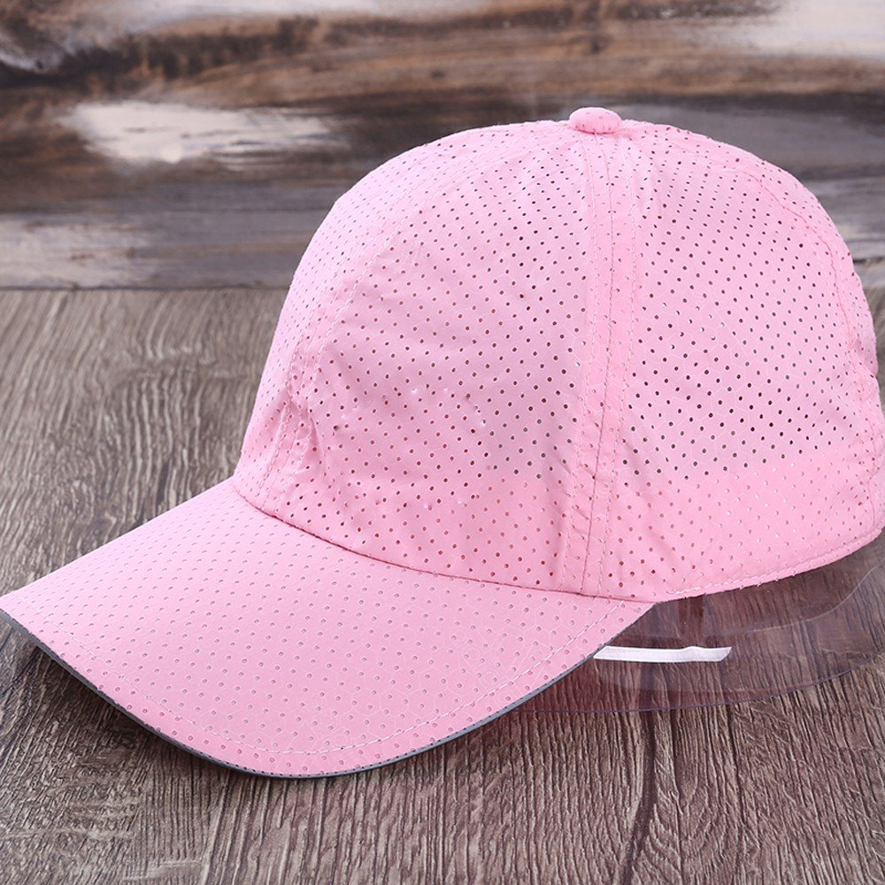 NHGY Men's Fast Dry Cap, Outdoor Hats,Pink NHGY Men's Fast Dry Cap NGHY