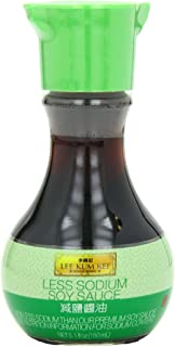 Lee Kum Kee Less Sodium Soy Sauce Glass Bottle,5.1 Ounce (Pack of 6