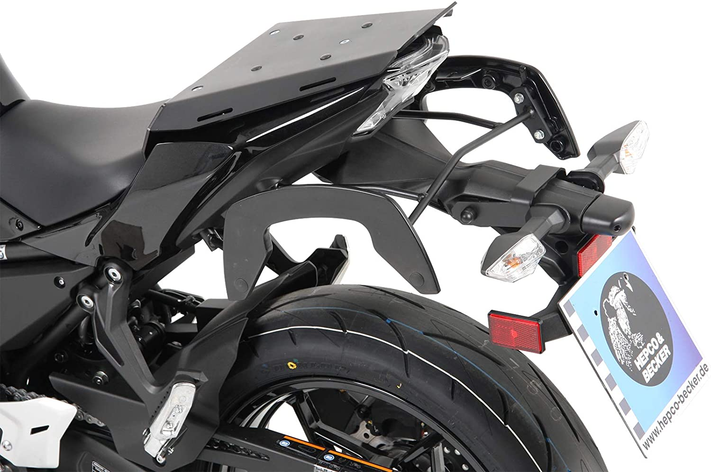 Hepco Becker Sportrack Schwarz Für Kawasaki Ninja 650 Ab Bj 2017 Auto