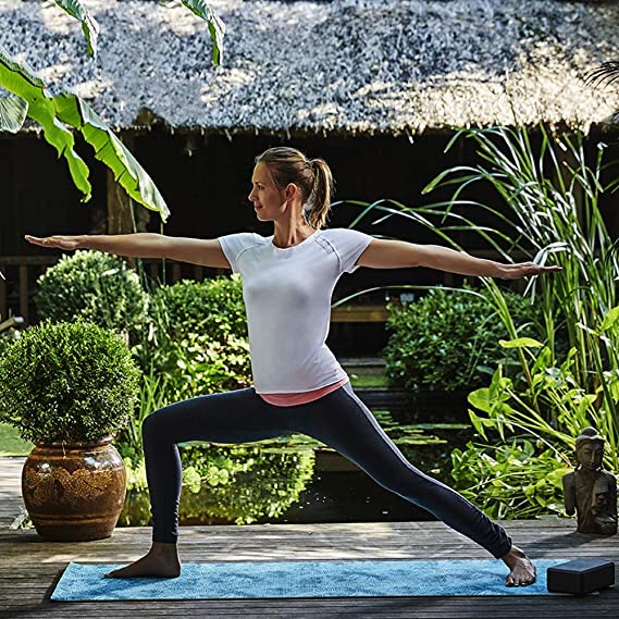 Amazon.com : YXGYJD Pilates Mat, Yoga Mat Yoga Fitness Yoga Mat, Rebound, Non-Slip, Tear Resistant, Durable, 173x61 cm - Yoga, Sit-ups, Family Outdoor ...