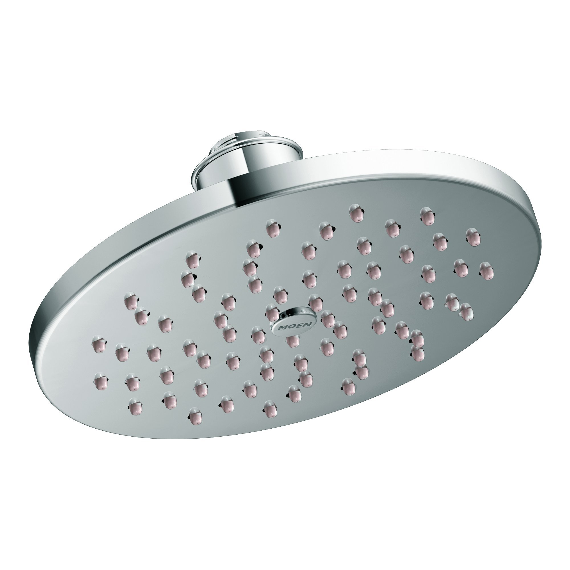 Moen S6360EP 8'' Eco-Performance Single-Function Rainshower Showerhead with Immersion Technology at 2.0 GPM Flow Rate, Chrome