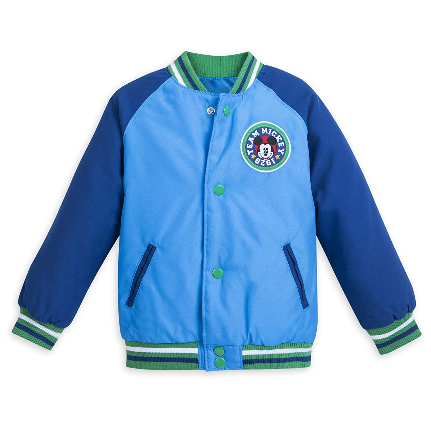 Disney Mickey Mouse Varsity Jacket for Boys Blue