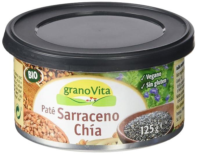 Granovita Pate Sarraceno Chia Bio - 125 gr