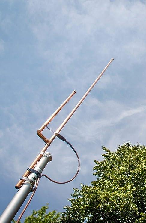 WALLER PAA - Antena de Base en J (2 m, Doble Banda, escáner de Radio Amateur Ham)