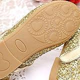 O&N Glitter Bow Kids Children Girls Ballet Flats