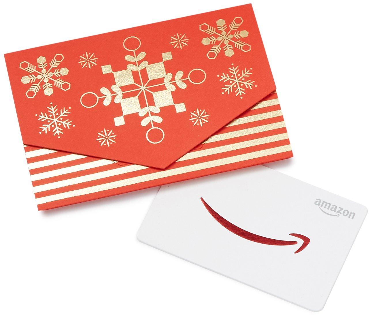 Amazon.com Gift Karte in a Mini Envelope