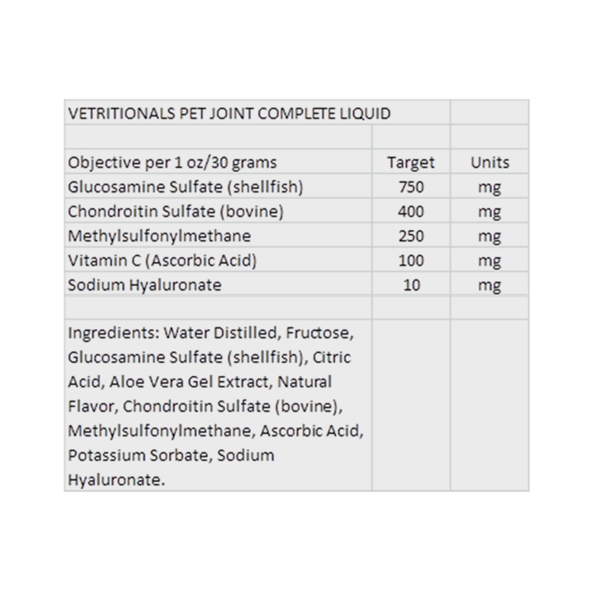 Vetritionals Joint Complete