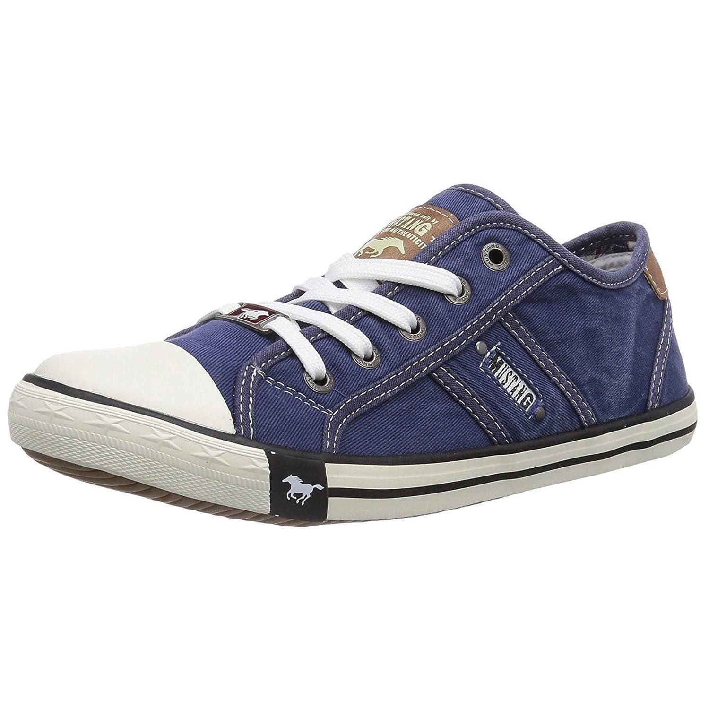 Trainers Denim Shoes Ladies Mustang 1099 841 Farbe 302 EBq7nwnSF