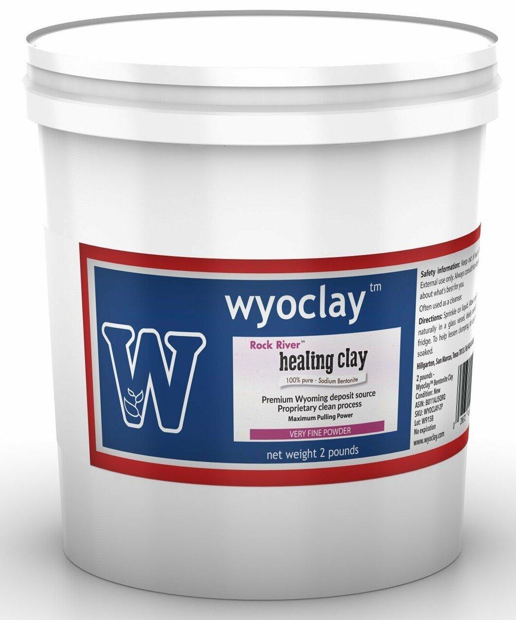 Wyoclay Bentonite Clay, 2 Pound