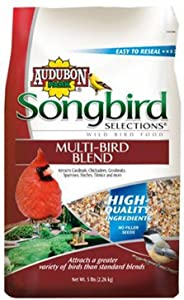 Songbird Selections Pound 11985 Multi Seed Blend Wild Bird Food Bag, 5, 5 lb