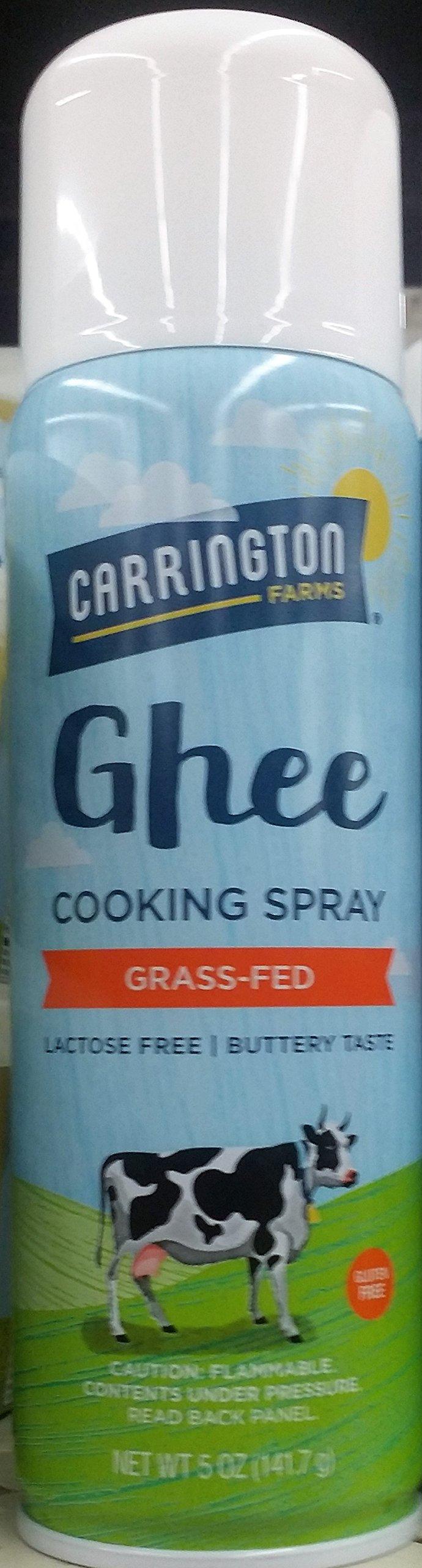 Carrington Ghee Cooking Spray 5 oz (Pack of 2)