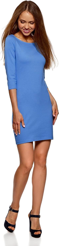 oodji Ultra Womens Basic Jersey Dress