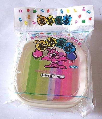 Pack of 6 x 2 pcs ... Hinodewashi Oyumaru monochromatic OO-250C clear 12 pieces