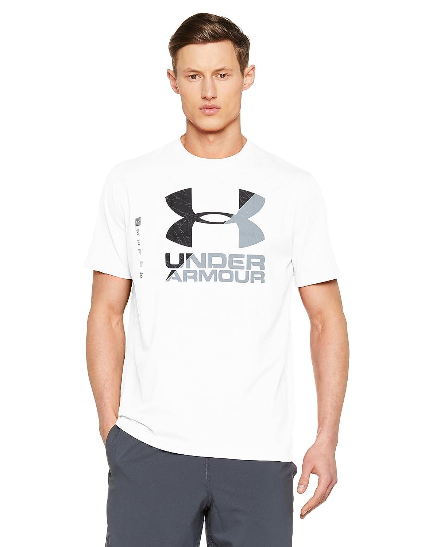 TALLA XL. Under Armour UA Split Fragment Logo SS T Camisa Manga Corta, Hombre
