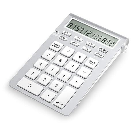 c7e9d71ca9c Cateck Wireless Bluetooth Numeric Smart Keypad with Calculator for iMac,  MacBooks, PCs, Bluetooth
