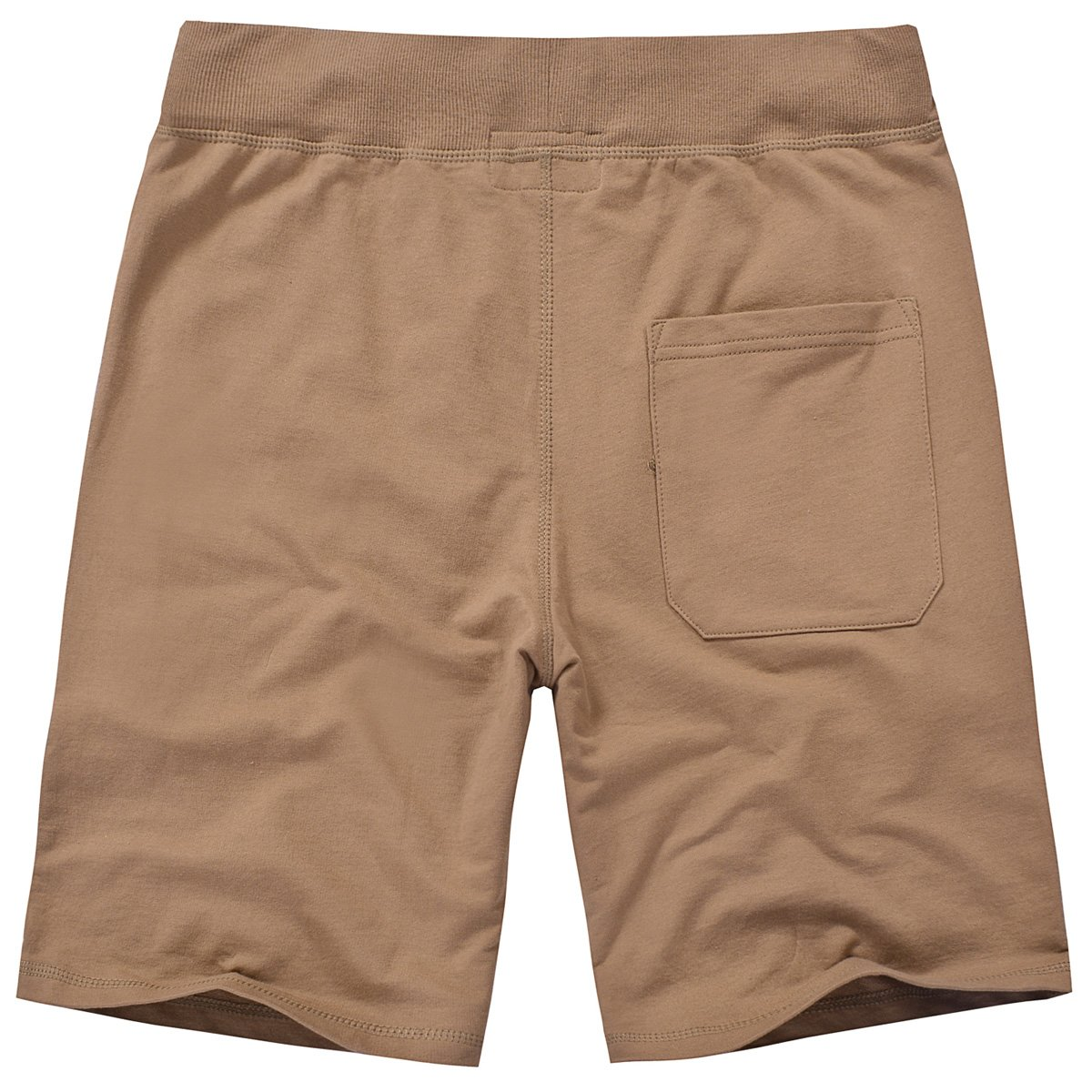 Amy Coulee Men's Cotton Casual Short with Pockets (S, Brown) by Amy Coulee (Image #2)