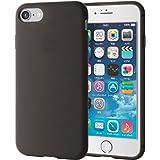 エレコム iPhone7ケース / アイフォン7 シリコンケース シリコンケース ブラック PM-A16MSCBK