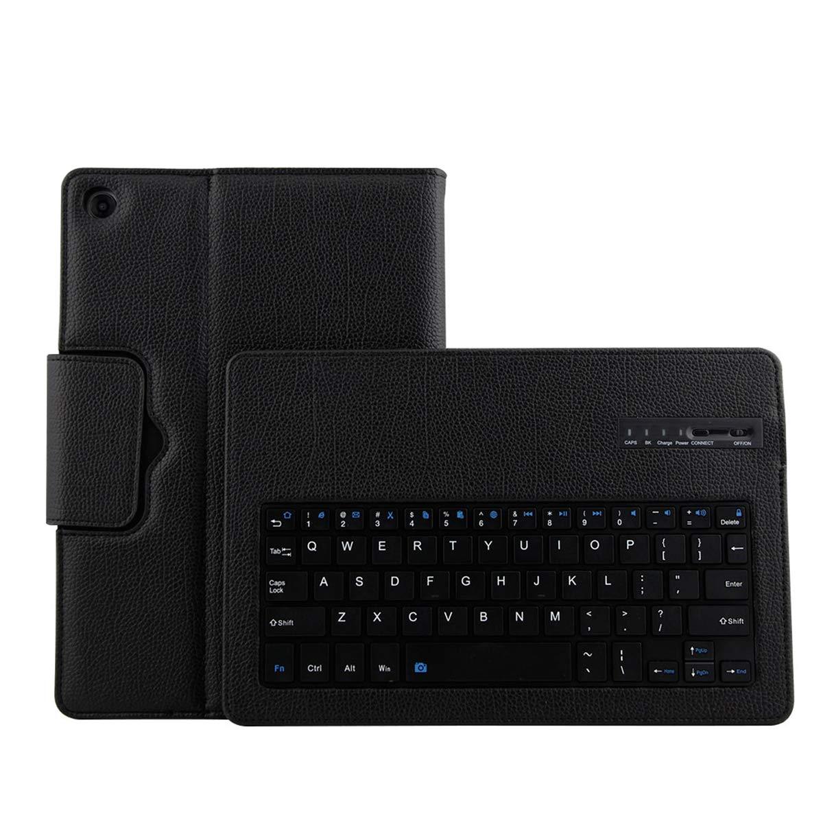 【人気商品!】 Happon Huawei Mediapad ブラック, M5 ブラック Mediapad 10.8ケースセット 取り外し可能なワイヤレスUSAキーボードタブレットプロテクターケース付き フリップ耐衝撃 完全保護 Huawei Mediapad M5 10.8用, ブラック, 2GDF-M5-354 ブラック B07KTYY1XL, Pet's Park:69b8235e --- a0267596.xsph.ru