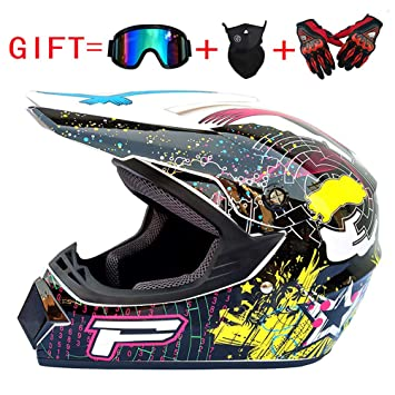 Saleté Atv Casque Off Adulte Motocross Intégral B Road Quad Od Moto 1c3KTlJF