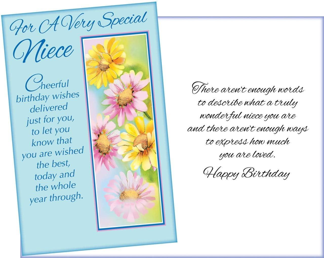 Amazon.com: Prime Greetings Happy Birthday Niece. Para un ...