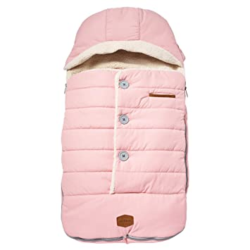 Canopy Style Bunting Bag to Protect Baby from Cold and Winter Weather in Car Seats and Strollers Toddler Urban Bundleme Blush Pink JJ Cole
